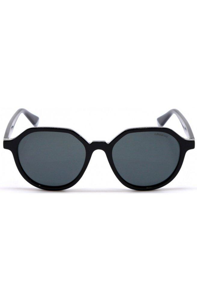 Солнцезащитные очки Polaroid PLD6111/S-807-M9 - круглые, Цвет линз - серый