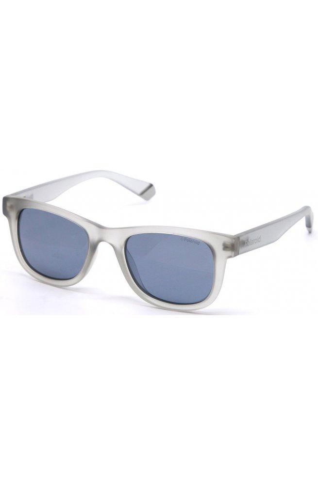 Солнцезащитные очки Polaroid PLD8009/N-KB7-EX - wayfarer, Цвет линз - серый