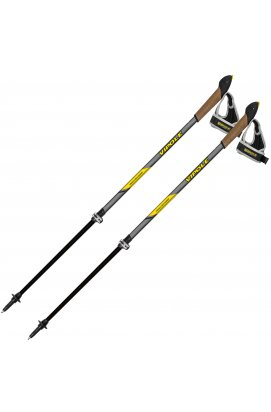 Палки для скандинавской ходьбы Vipole High Performer Carbon Top-Click QL DLX (S1965)