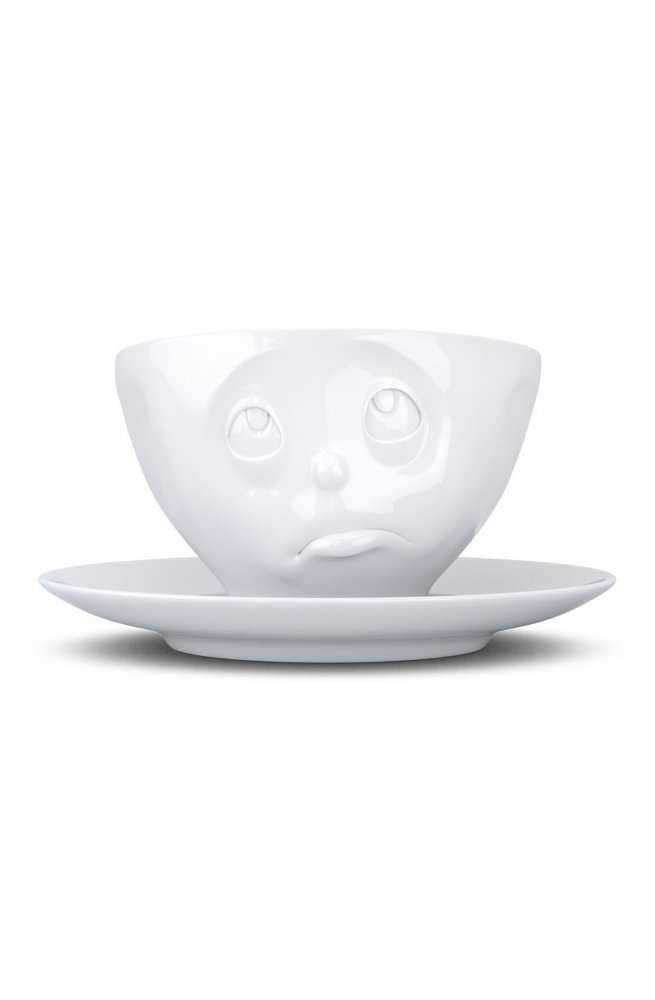 Чашка с блюдцем для кофе  Tassen Oh, please 200 мл фарфоровая - wos2601