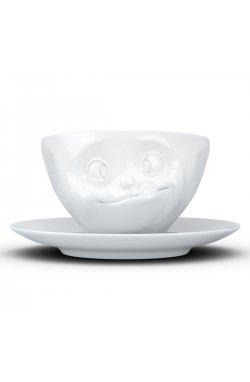 Чашка с блюдцем для кофе Tassen Лакомство (200 мл), фарфор - wos2688
