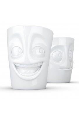 Набір Tassen Жартівник і Лакомка з двох фарфорових чашок (350 мл) - wos8813