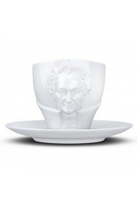 Чашка з блюдцем Tassen Йоганн Вольфганг фон Гете (260 мл), фарфор - wos8817