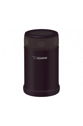 Пищевой термоконтейнер Zojirushi Dark Brown,0,5 L (ZJR SWEAE50TD)