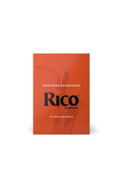 Трости для духового инструмента D'ADDARIO Rico - Baritone Sax #3.5 - 10 Pack