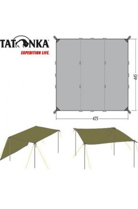 Тент Tatonka Tarp 1 Simple 4.25*4.45 м, Assorted (TAT 2478.001)