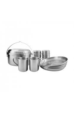 Набор посуды Tatonka Picnic Set IV Silver , Silver (TAT 4142.000)