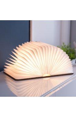 """Светильник-книга """"Smart Book"""", натуральная кожа - wos8045"""