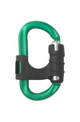 Карабин AustriAlpin OVALOCK flapgate KA65B-N - зеленый (9006381306541)