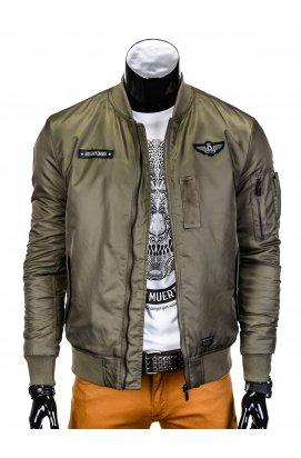 Куртка бомбер мужская демисезонная K331 - olive