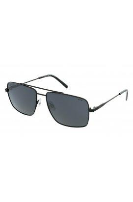 Мужские солнцезащитные очки INVU B1103B - прямоугольные, Цвет линз - серый