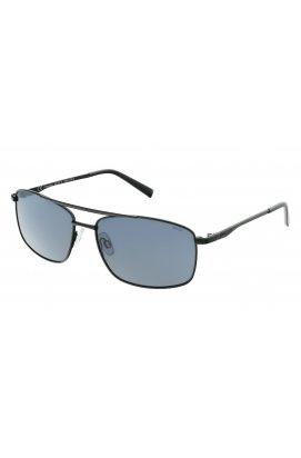 Мужские солнцезащитные очки INVU B1107A - прямоугольные, Цвет линз - серый