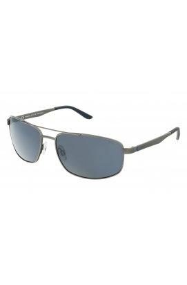 Мужские солнцезащитные очки INVU B1117B - прямоугольные, Цвет линз - серый