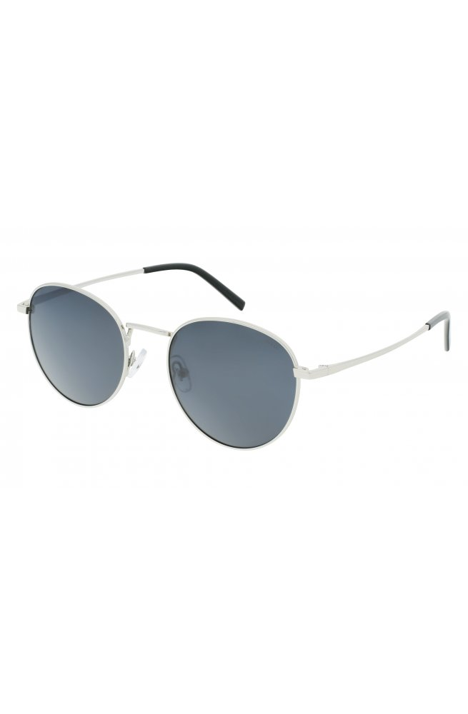 Солнцезащитные очки INVU B1122C - круглые, Цвет линз - серый
