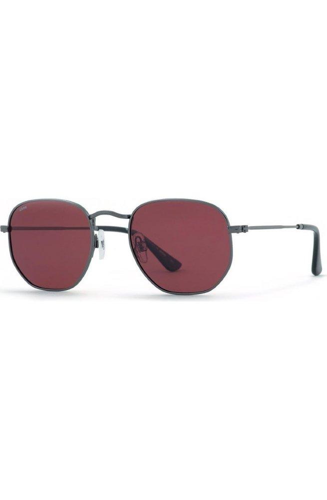 Мужские солнцезащитные очки INVU B1902B - квадратные, Цвет линз - коричневый