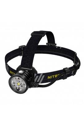 Ліхтар налобний Nitecore HU60 (4xCree XP-G3 S3 + 1xXHP35 HD E2, 1600 люмен, 10 режимів, Bluetooth)