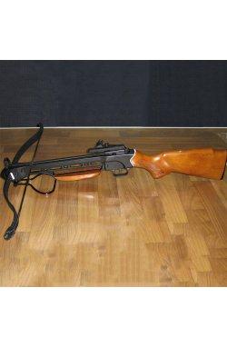Арбалет винтовочного типа Man Kung 150A1 (длина: 780мм, сила натяжения: 18кг), комплект, дерево