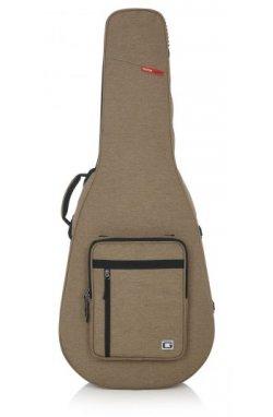Кейс для гитары GATOR GTR-DREAD12-TAN Tan Transit Lightweight Dreadnought Guitar Case