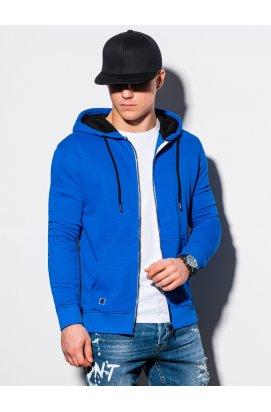 Чоловіча толстовка з капюшоном B1223 - синій - Ombre