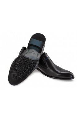 Туфли мужские Carlo Delari 7211019 цвет черный, кожа