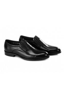Туфли мужские Clemento 7211302 цвет черный, кожа