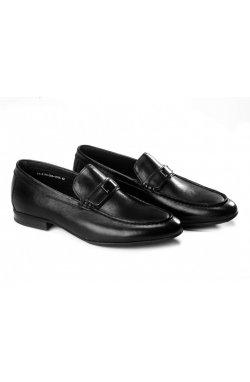 Туфли мужские Clemento 7211303 цвет черный, кожа