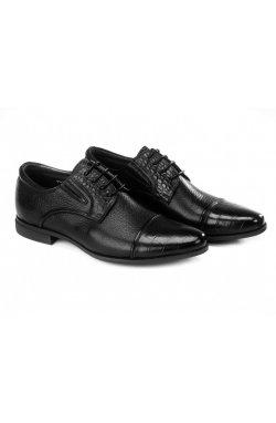 Туфли мужские Clemento 7211305 цвет черный, кожа