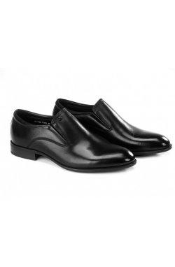Туфли мужские Clemento 7211306 цвет черный, кожа