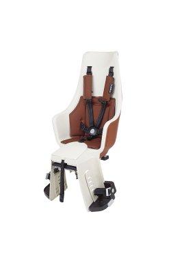 Детское велокресло Bobike Exclusive maxi Plus Carrier LED / Cinnamon brown