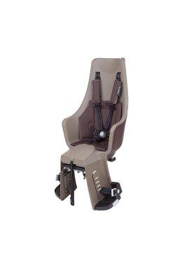 Детское велокресло Bobike Exclusive maxi Plus Carrier LED / Toffee Brown