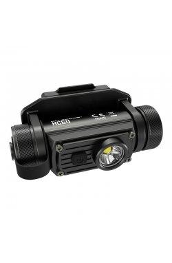 Фонарь налобный Nitecore HC60M (Cree XM-L2 U2, 1000 люмен, 8 режимов, 1x18650, USB), комплект