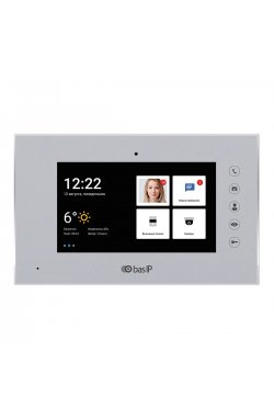 IP видеодомофон BAS-IP AQ-07L silver
