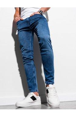 Мужские джинсовые штаны P1007 - синий - Ombre