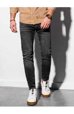 Мужские джинсовые штаны P1007 - серый - Ombre
