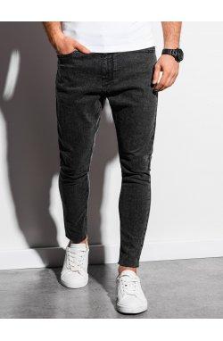 Мужские джинсовые штаны P923 - чёрный - Ombre