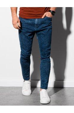 Мужские джинсовые штаны P923 - синий - Ombre