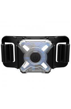Фонарь налобный сигнальный Nitecore NU05 MI (IR + GREEN LED, 4 режимов, USB)