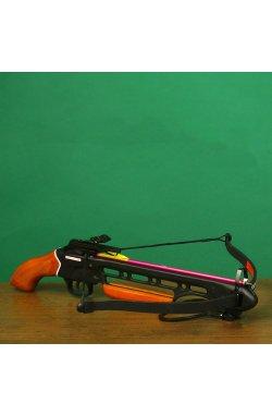 Арбалет пистолетного типа Man Kung 150A1H (длина: 780мм, сила натяжения: 18кг), комплект, дерево