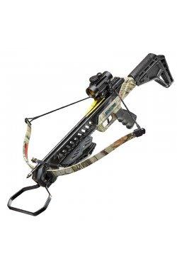 Арбалет пистолетного типа Man Kung MK-XB27BK (длина: 820мм, сила натяжения: 18кг), комплект, камуф.