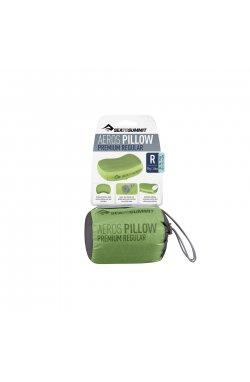 Надувная подушка Sea To Summit Aeros Premium Pillow, 11х34х24см, Lime (STS APILPREMRLI)