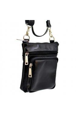 Компактная сумка из натуральной кожи GA-1342-3md от бренда TARWA Черный