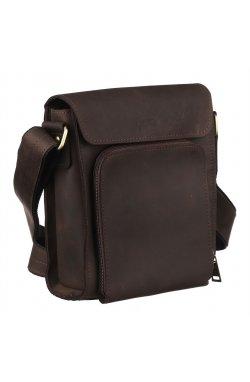 Мужская кожаная сумка через плечо RC-30272-3md TARWA Коричневый