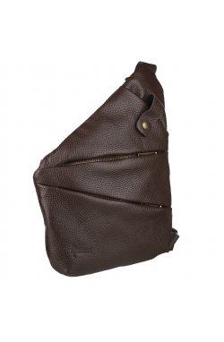 Мужская сумка-слинг через плечо FC-6402-3md коричневый флотар, бренд TARWA Коричневый