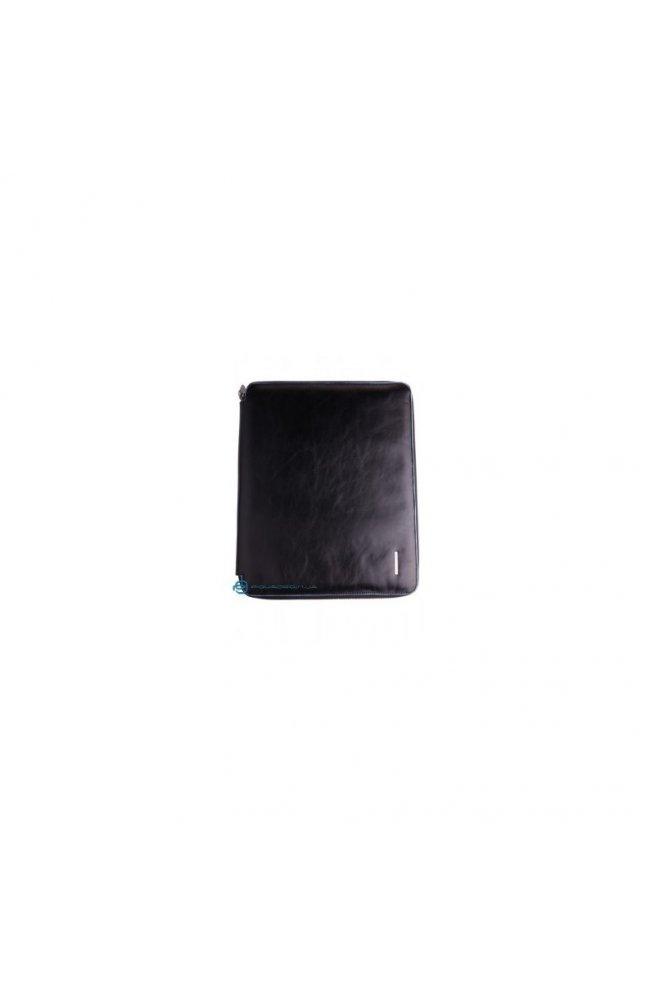 Блокнот Piquadro Blue Square A4 в коже на молнии (27х32х2) PB1164B2_N