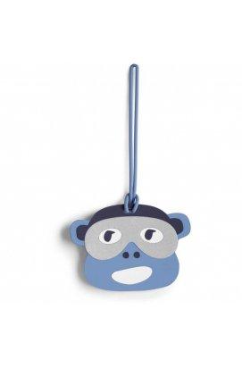 Брелок Kipling MONKEY FUN TAG Bl Monkey Face (25B) K00117_25B, Бельгия