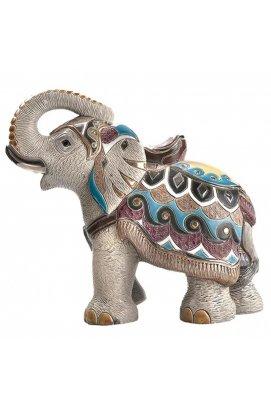 Фигурка De Rosa Rinconada Large Wildlife Слон Индийский 2010 (лим.вып. 2000 шт) Dr441o-21