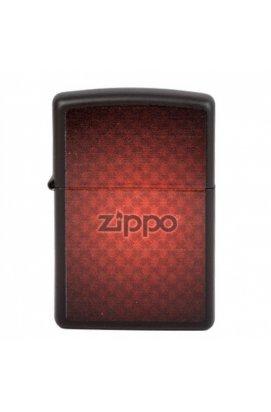 Зажигалка Zippo Classics Zippo Logo Black Matte Zp218.901, США