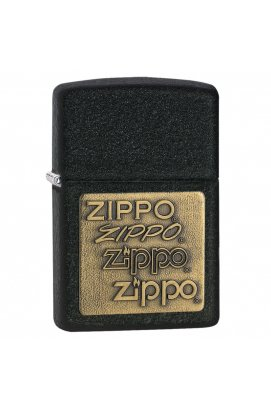 Зажигалка Zippo Classics Brass Emblem Black Crackle Zp362, США