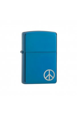 Зажигалка Zippo Classics Peace On The Side Sapphire Zp21055, США
