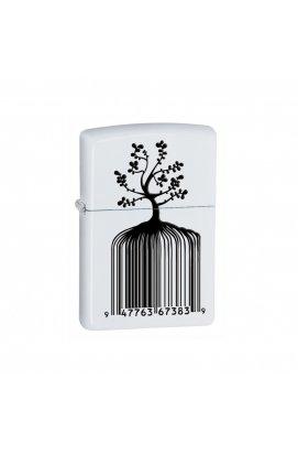 Зажигалка Zippo Classics Identity Tree Barcode White Matte Zp28296, США